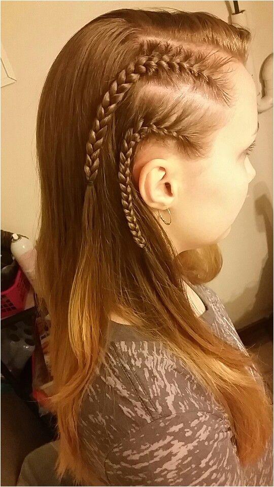 white girl cornrows