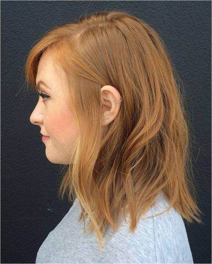medium choppy hair