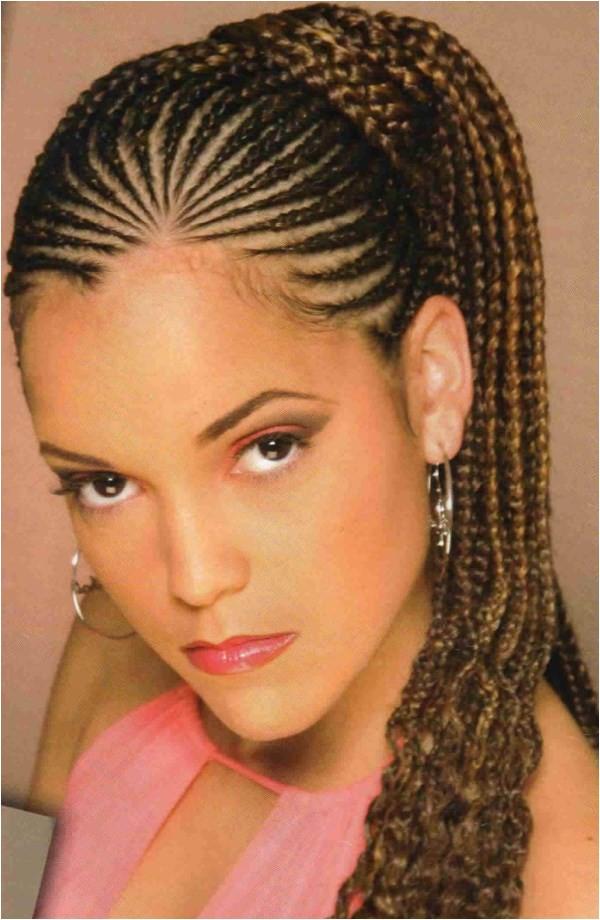 10 best cornrows braided hairstyles for black women