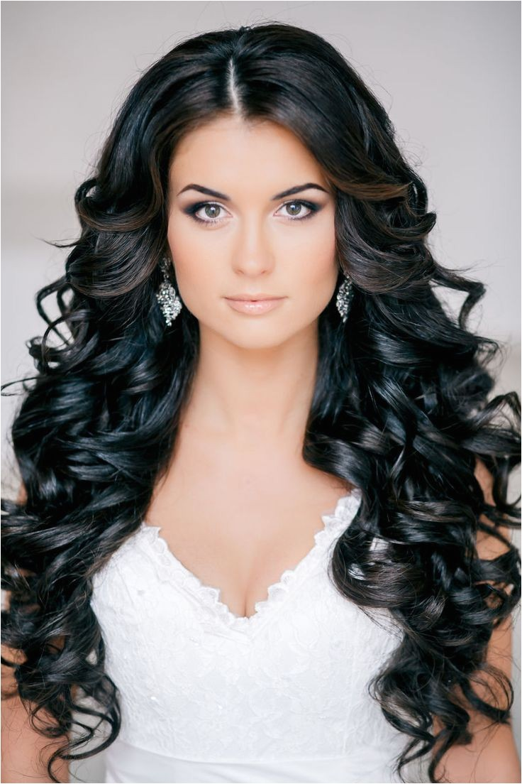 beautiful bridal wedding hairstyles long hair