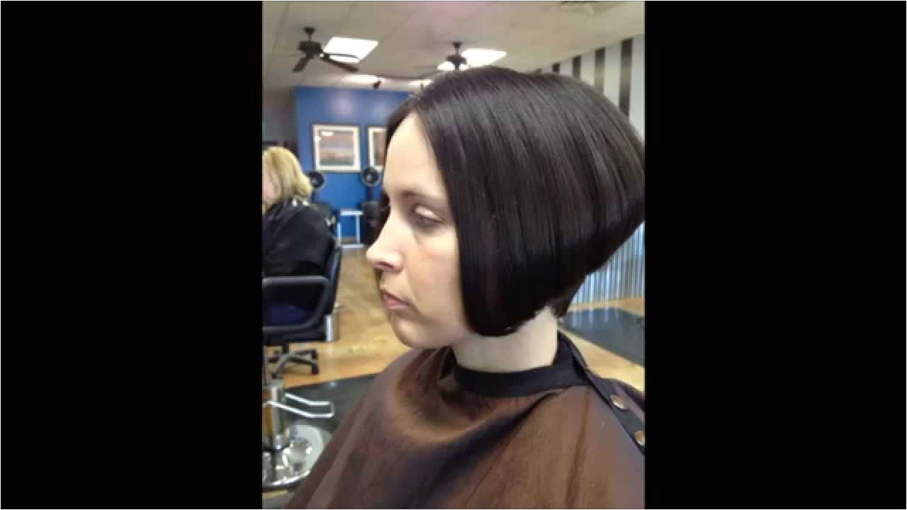 Youtube Graduated Bob Haircut Hair Makeover Long to Graduated Bob Haircut