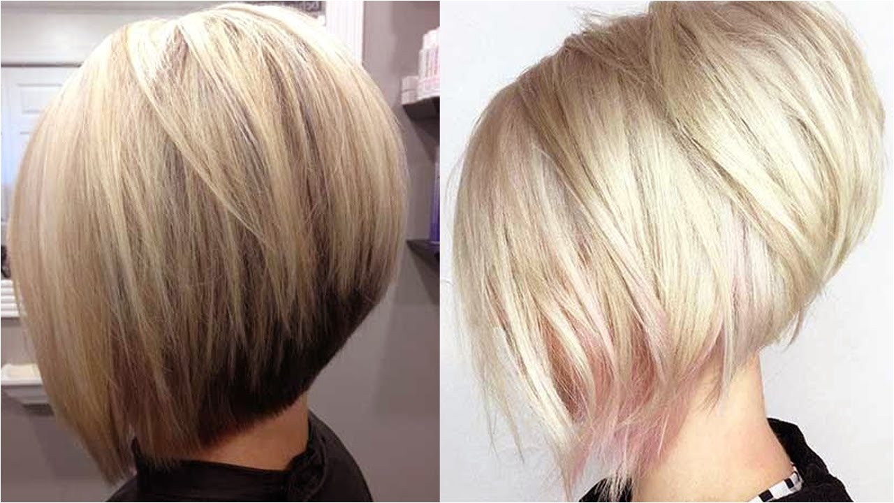 really trending short stacked bob haircut ideas youtube
