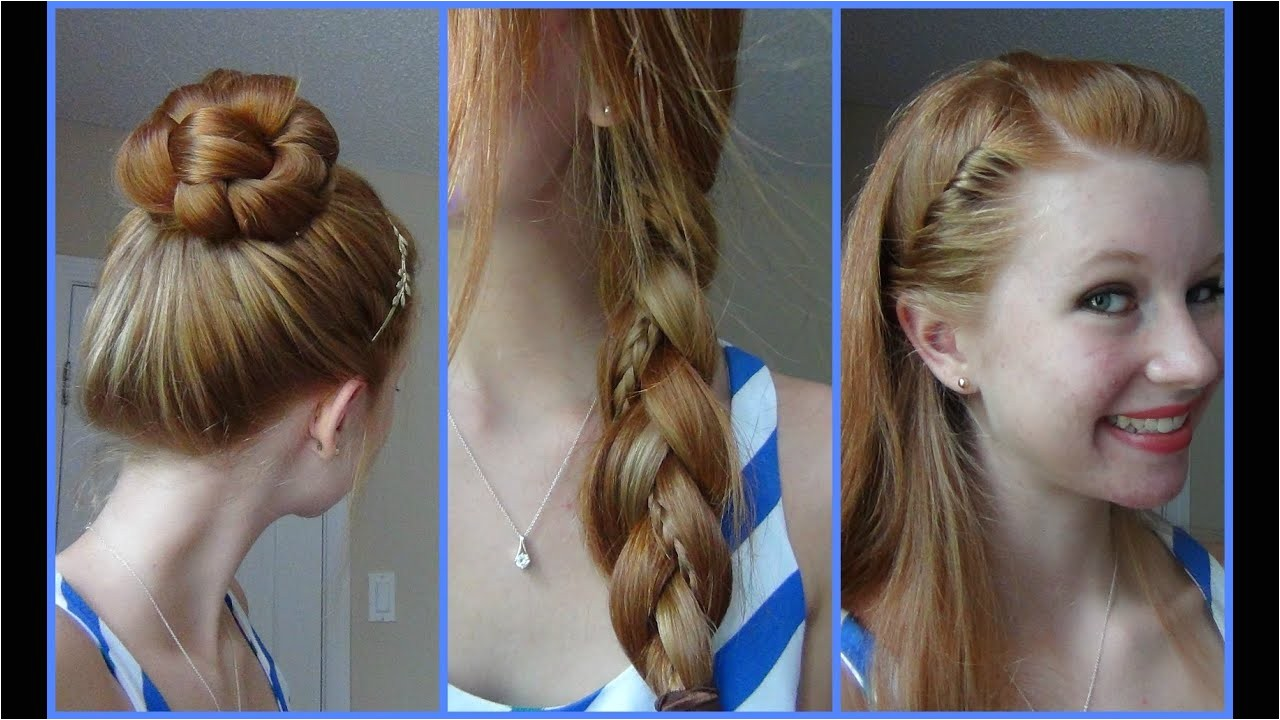 10 Quick and Easy Hairstyles for School 3 Simple Quick and Easy Back to School Hairstyles