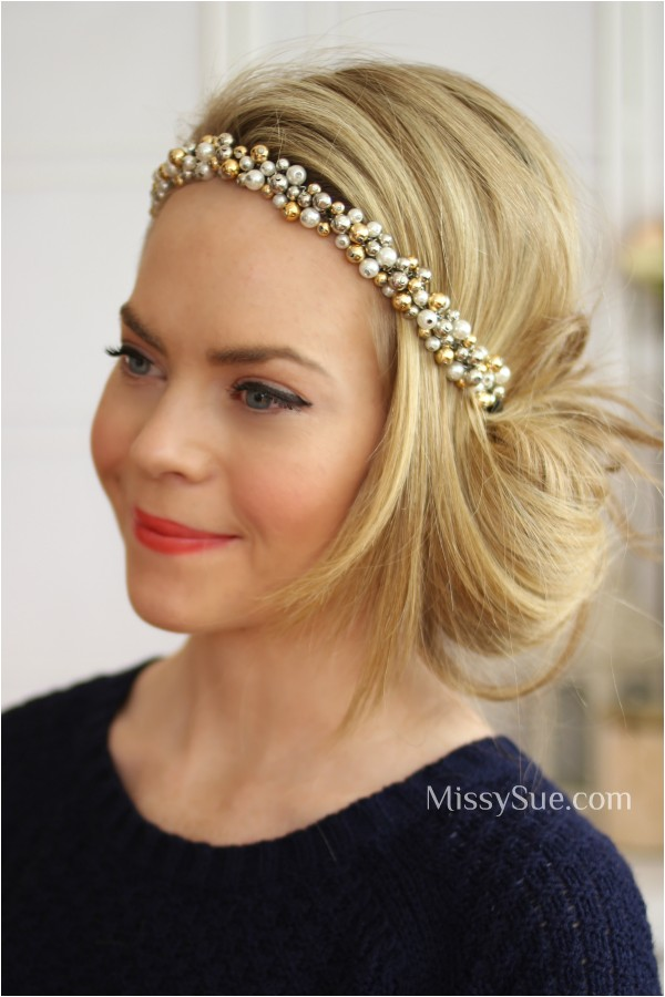easy 1920s hairstyles for long hair