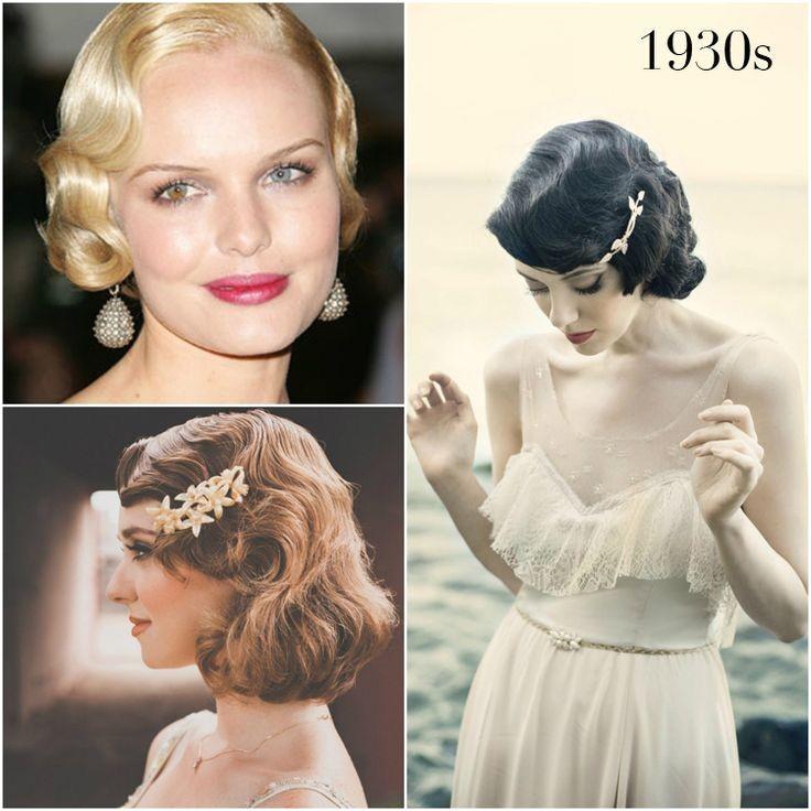 1930s hairstylesmakeup