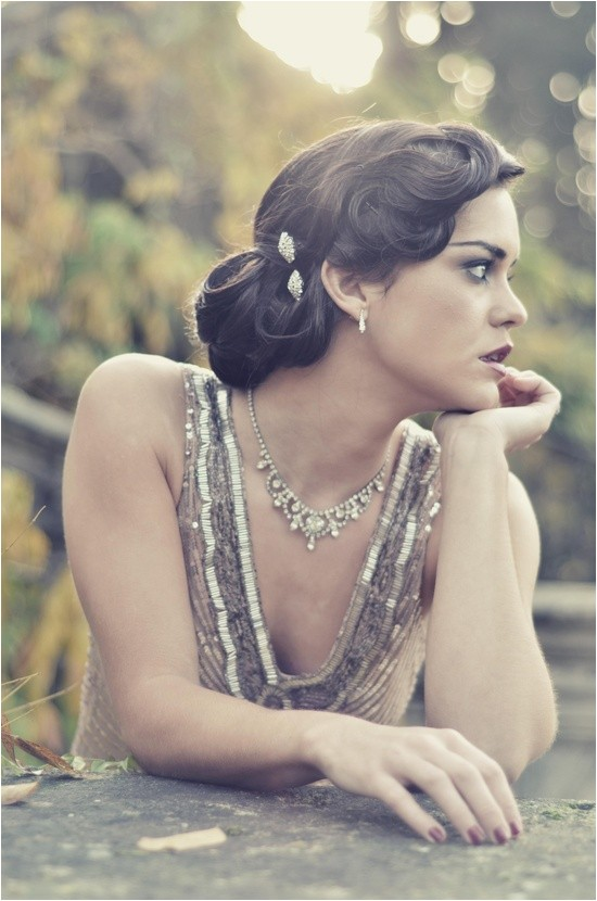 10 vintage wedding hair styles inspiration for a 1920s 1950s wedding