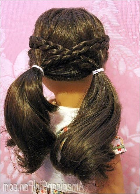 cute hairstyles for american girl dolls with long hair