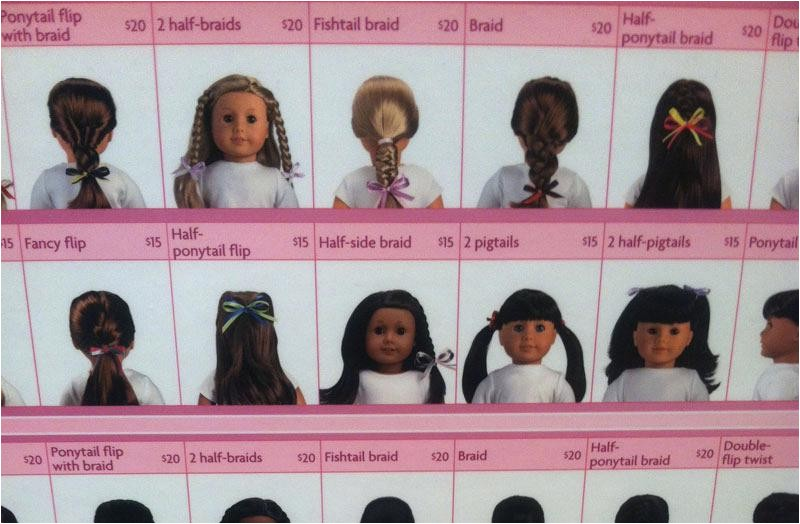 ag doll hairstyles for long hair easy