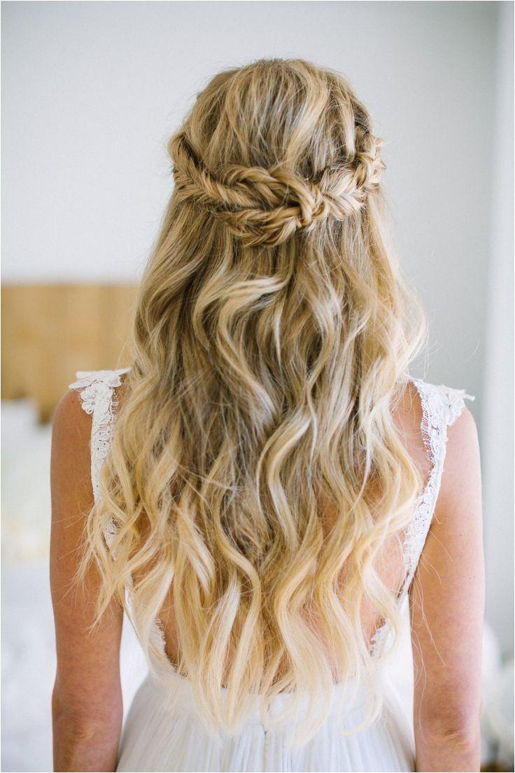 wedding hair beach waves
