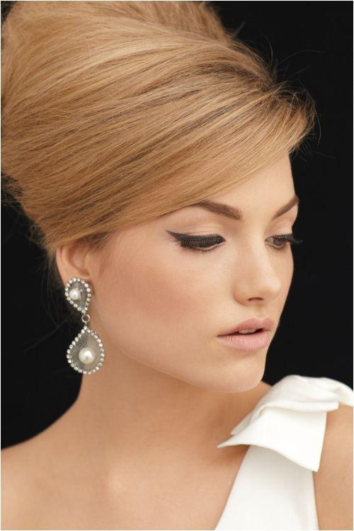 bridal hair trend soft beehive