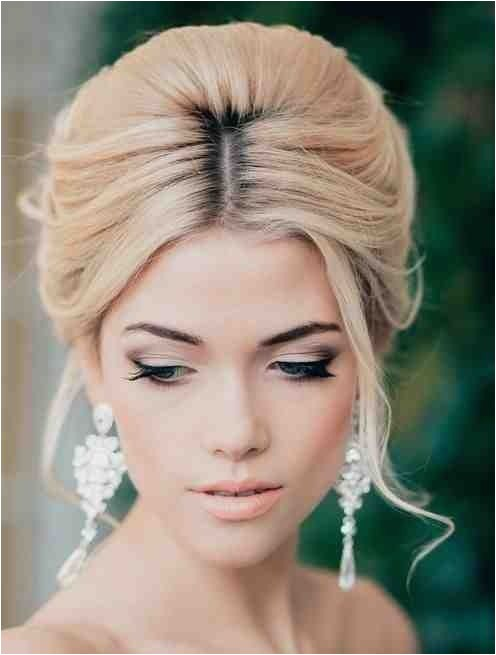 bridal hair trend soft beehive