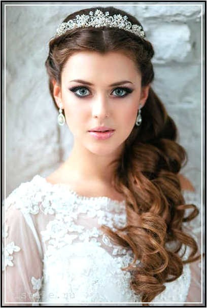 wedding hairstyles for round faces 26