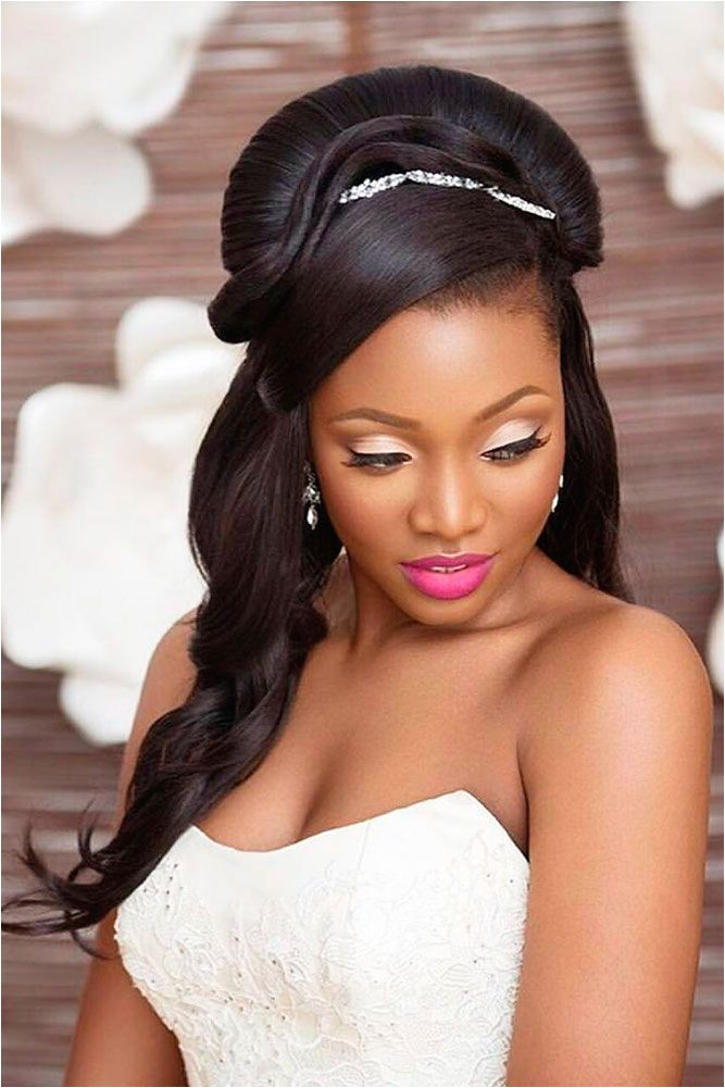 18 black women wedding hairstyles ❤ see more ww