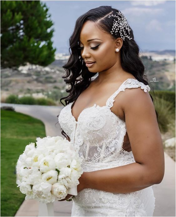 2018 wedding hairstyle ideas for black women
