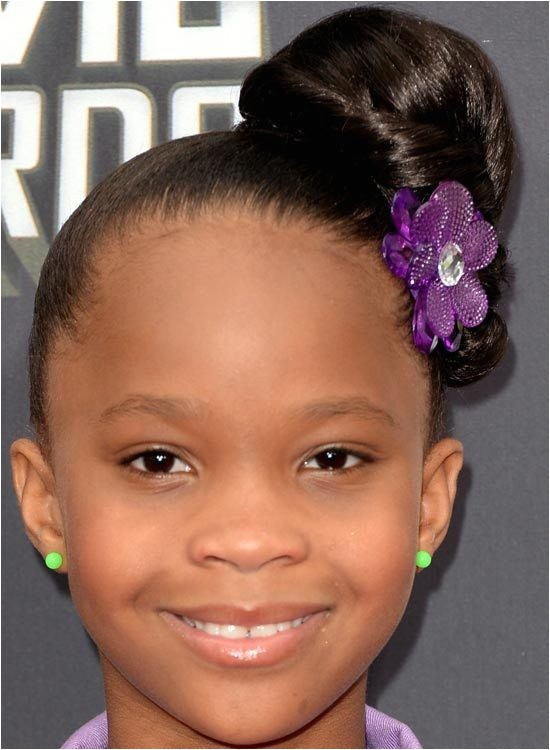 updo hairstyles for black kids