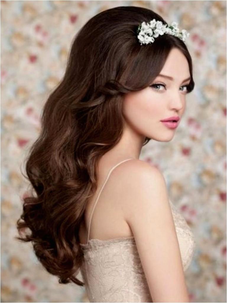 bohemian wedding hairstyle for long hair