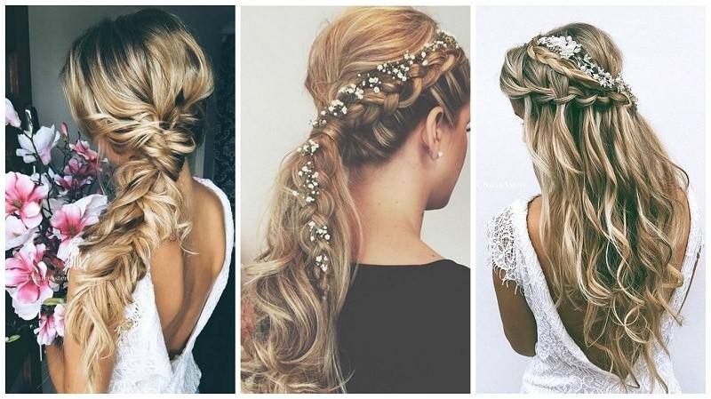 bohemian wedding hairstyle ideas