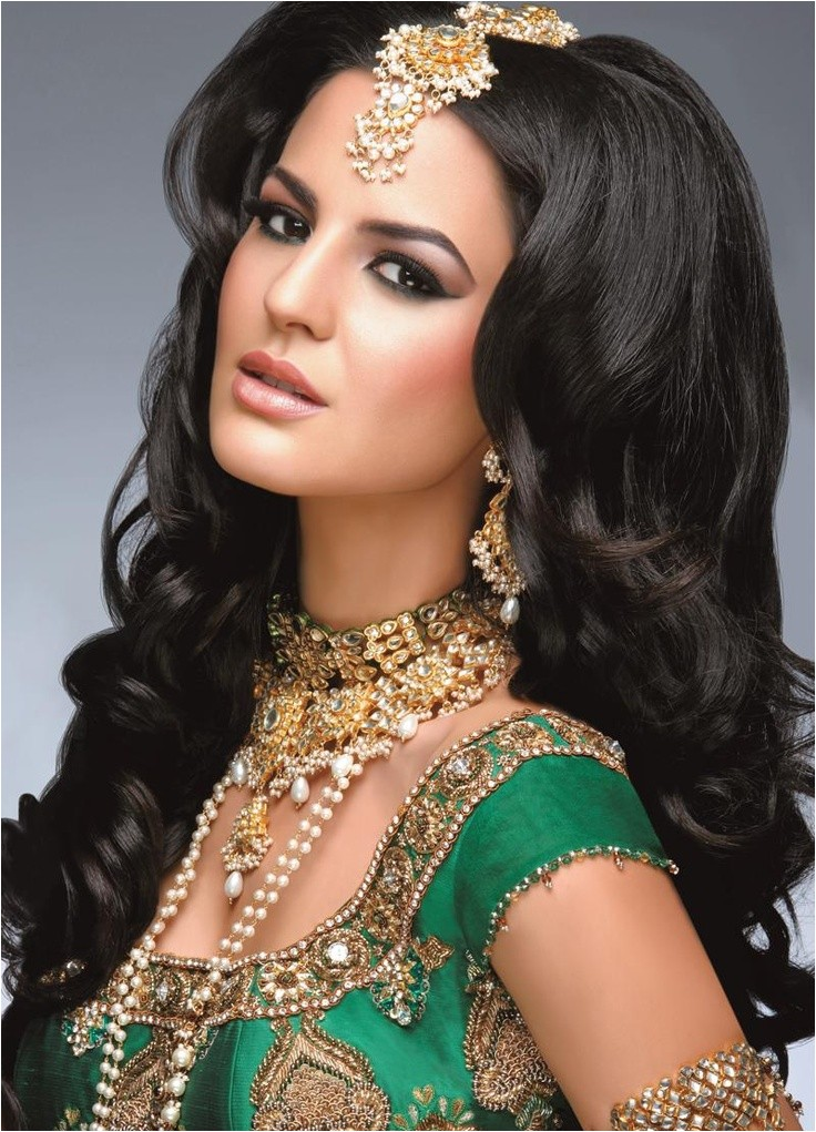 Bollywood Hairstyles for Wedding Beautiful Stylish Indian Bridal Wear New Hairstyle
