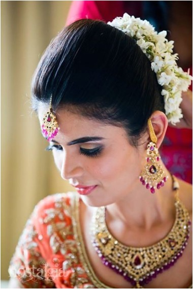 Bridal Hairstyles for Indian Weddings 12 Inspirational Indian Bridal Hairstyles for Summer 2014