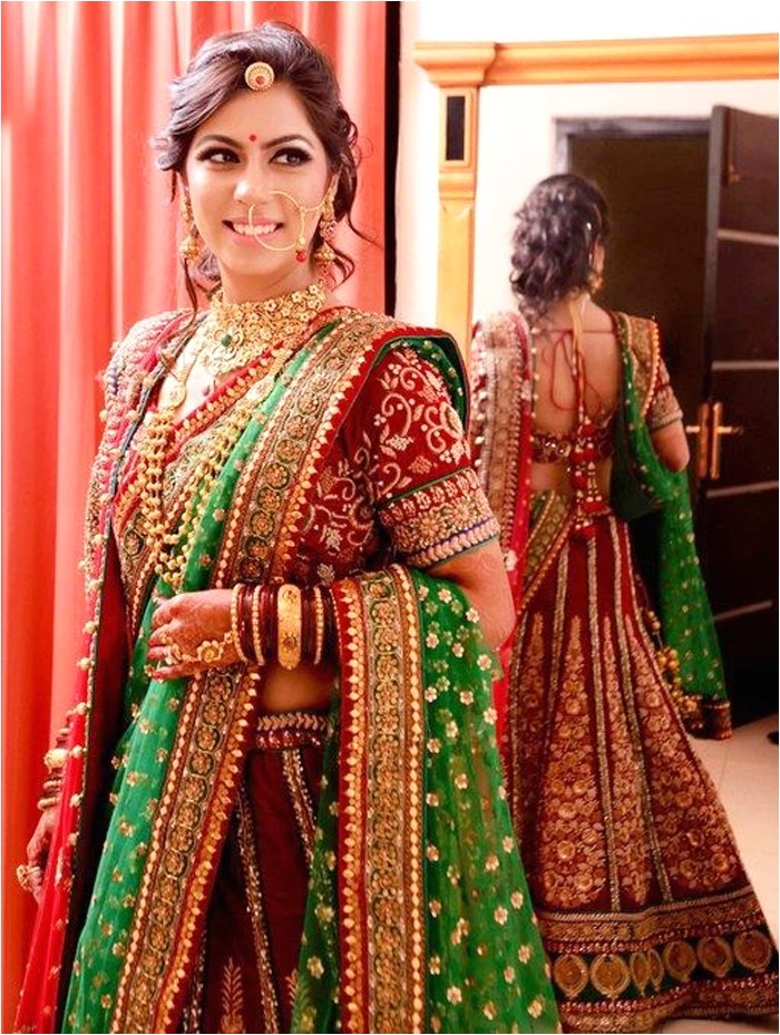 Bridal Hairstyles for Indian Weddings Indian Bridal Hairstyle Dulhan Latest Hairstyles for Wedding