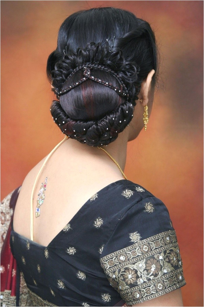 Bridal Hairstyles for Indian Weddings Indian Wedding and Reception Hairstyle Trends 2013 India