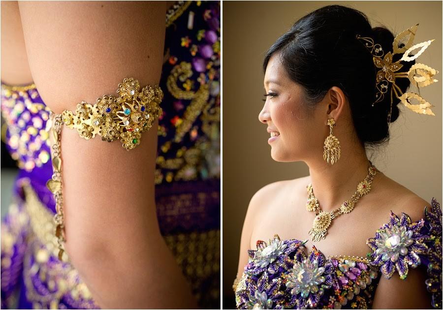 khmer bride hairstyle in wedding