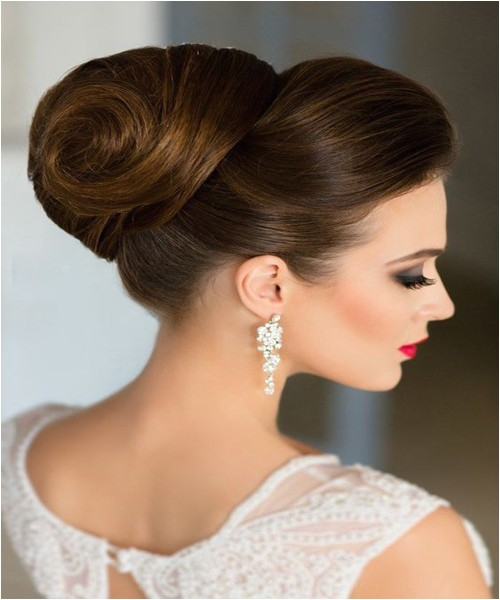 Classic Hairstyles for Weddings Classic Updo Hairstyles for Wedding 2017