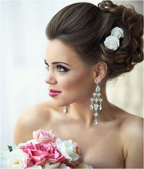 updo wedding hairstyles brides
