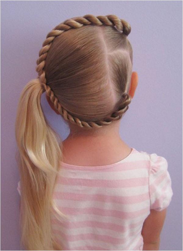 letter hair fun for little kid 14