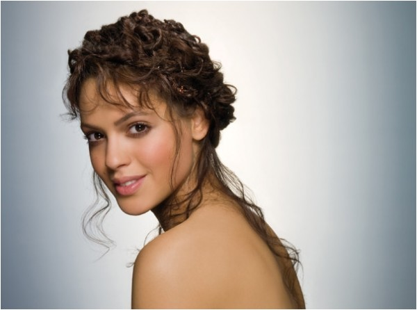 wedding hairstyles for naturally curly hair cool easy