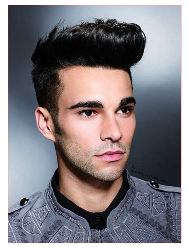 good hairstyles for guys with round faces