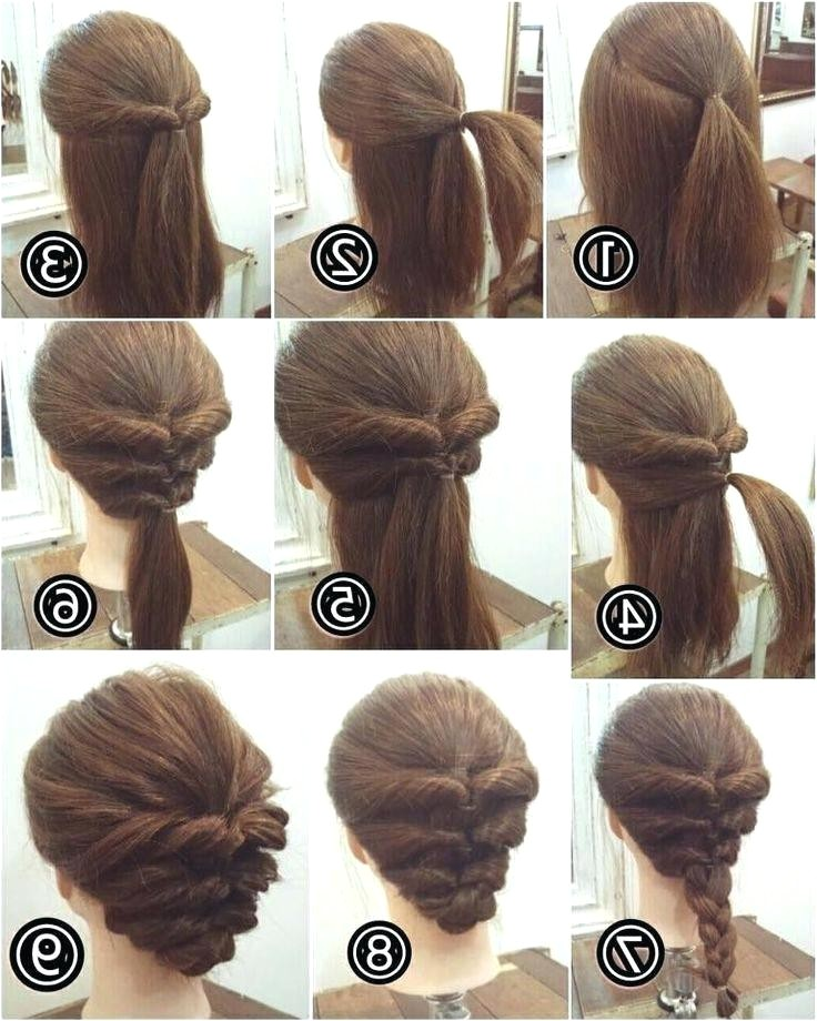 easy hairstyles for short hair to do at home