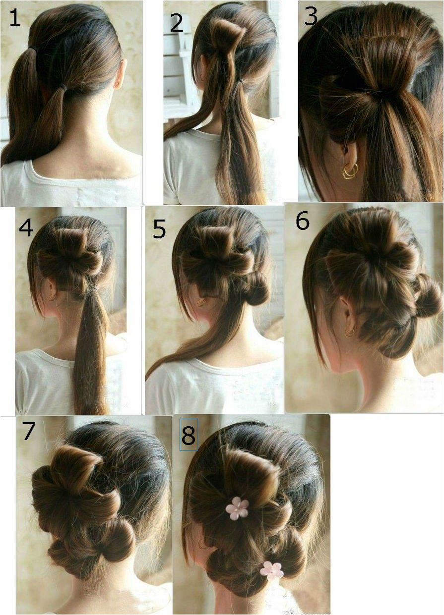 home ing hairstyles step by step
