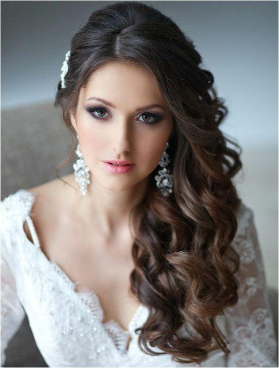side swept wedding hairstyles