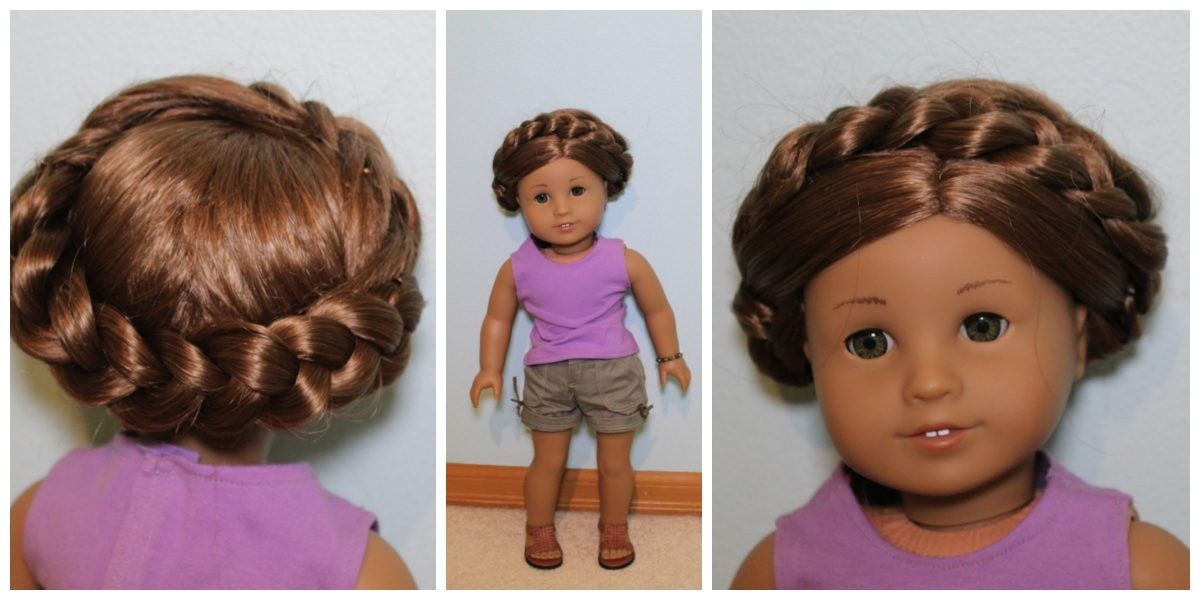 different hairstyles for cute american girl doll hairstyles easy summer hairstyle for ag dolls youtube