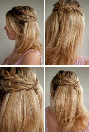 cute and easy hairstyles for short and long hair