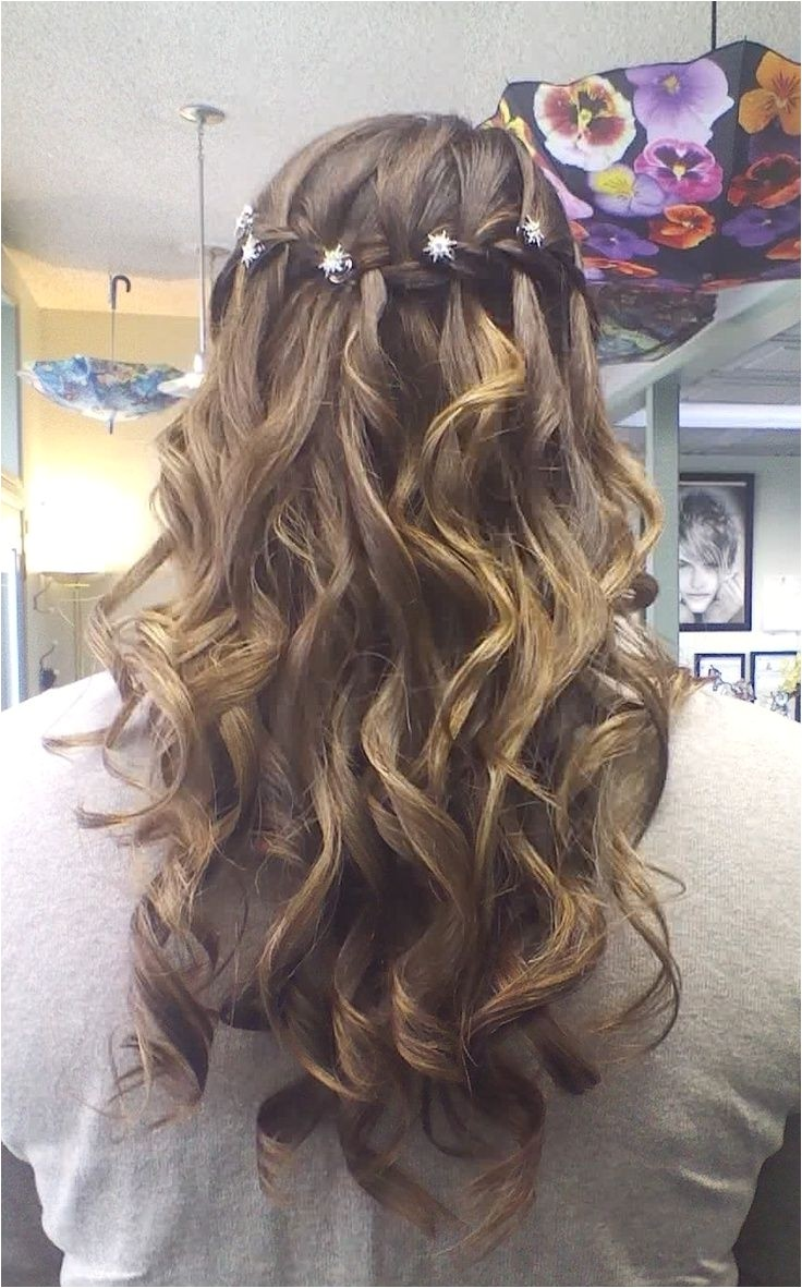 cute hairstyles for a dance