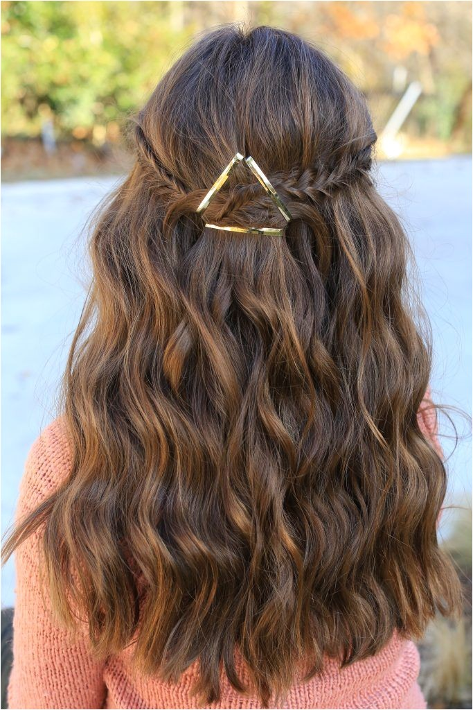 cute simple hairstyles for school dances