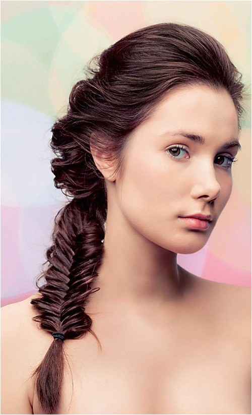quick easy hairstyles for wet long hair 2014