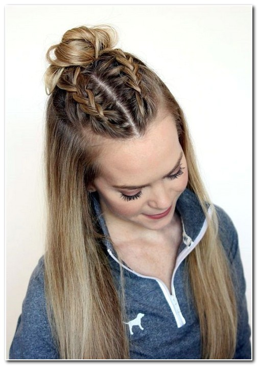 Cute Easy Hairstyles for Straight Hair for School Back to School Hairstyles for Straight Hair Hairstyles