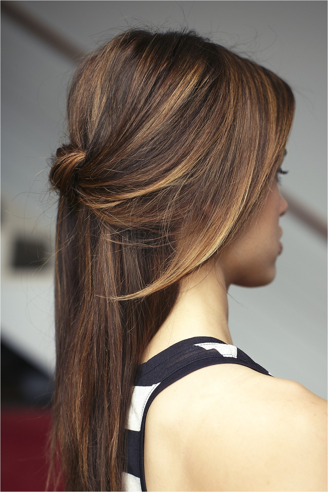 25 gorgeous half up half down hairstyles
