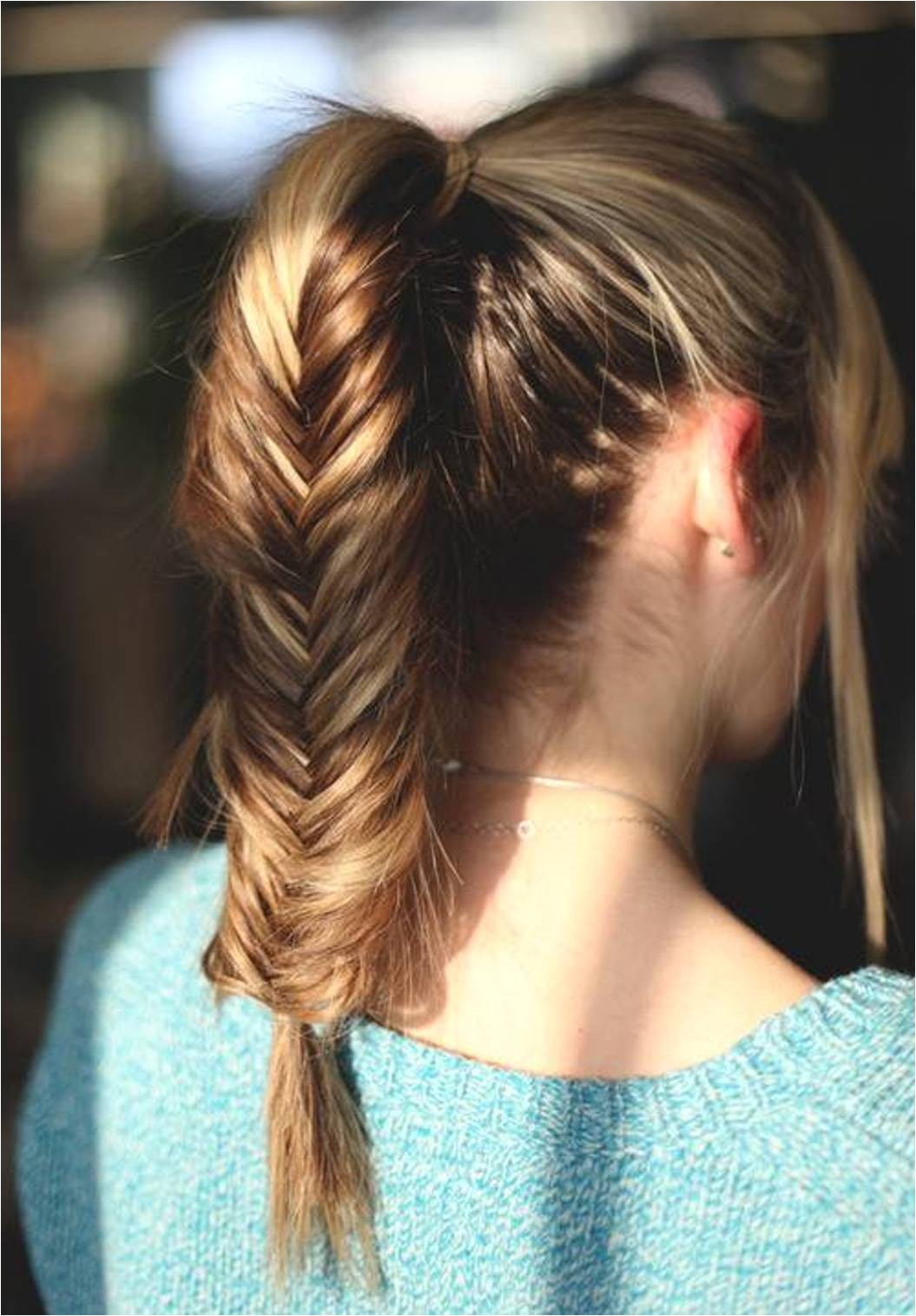 10 easy ponytail hairstyles for medium length hair