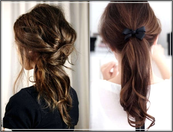 different kind of simple easy hairstyles for school girls