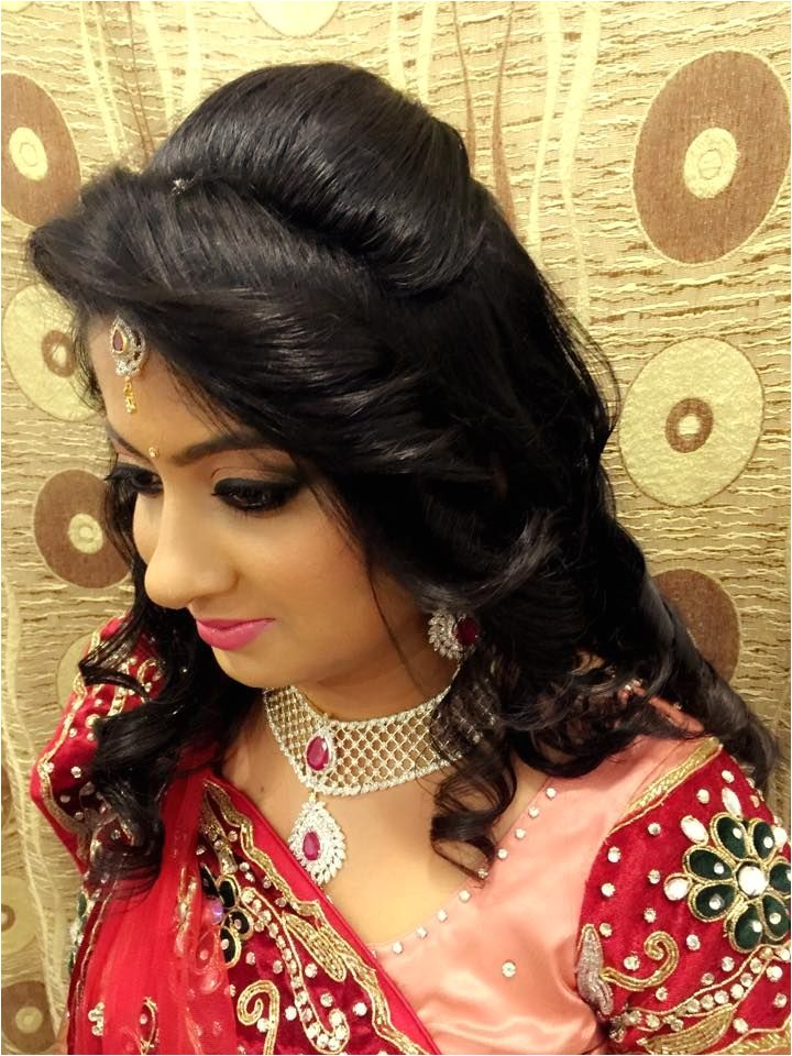 hair style for indian wedding