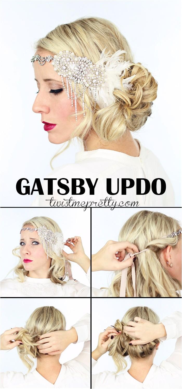 2 gatsby hairstyles halloween