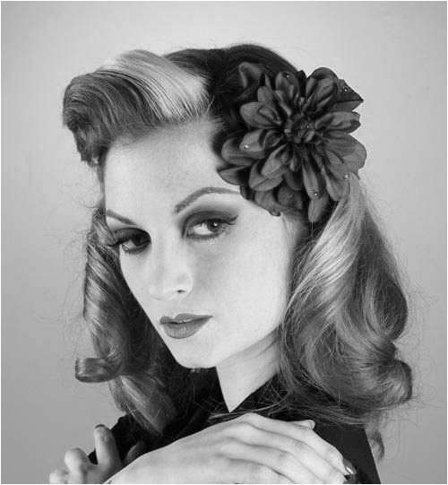 1940 hairstyles how to for long hair