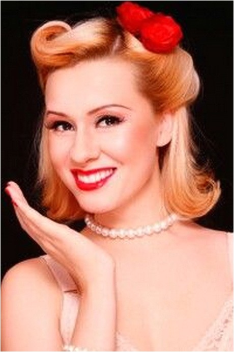 Easy 1950s Hairstyles for Long Hair 1950s Hairstyles