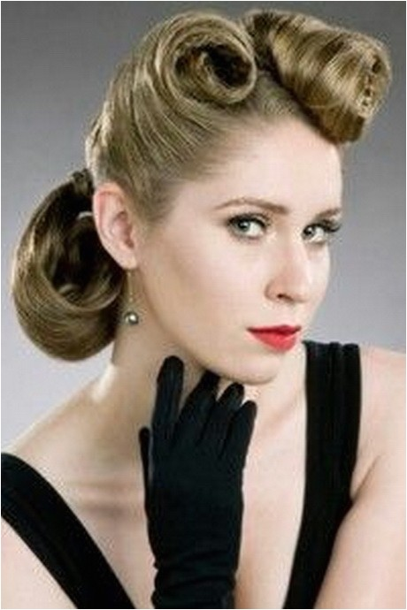1950s ponytail hairstyles for long hair