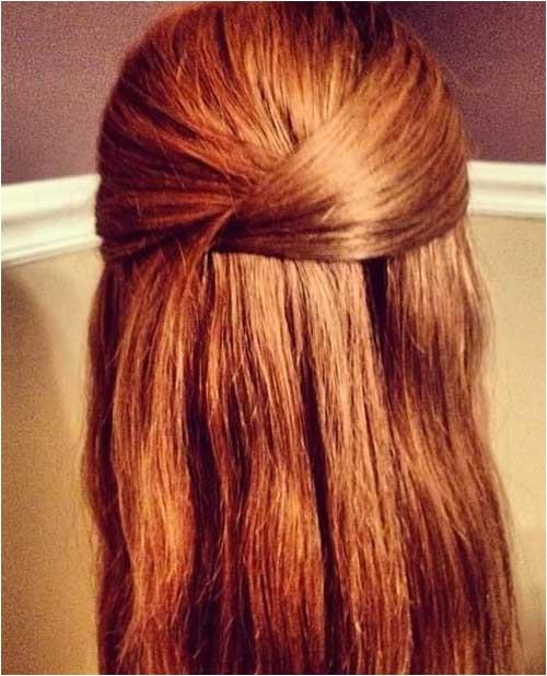 20 easy styles for long hair