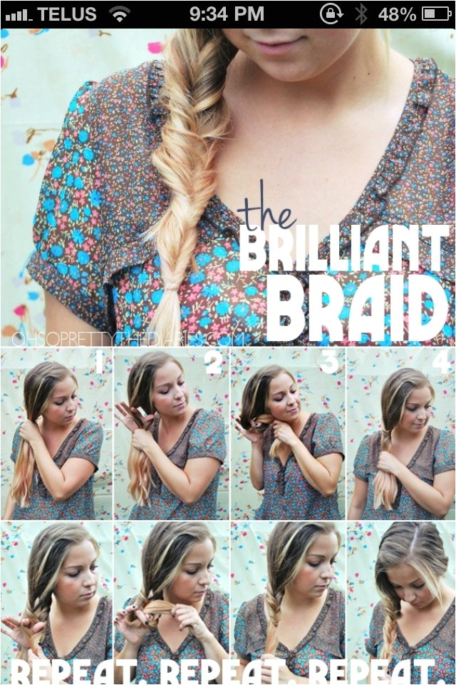 easy five minutes hairstyles tutorials